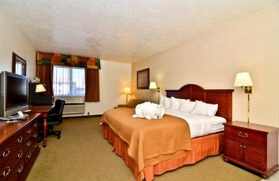Best Western Ruby's Inn - Chambre lit King