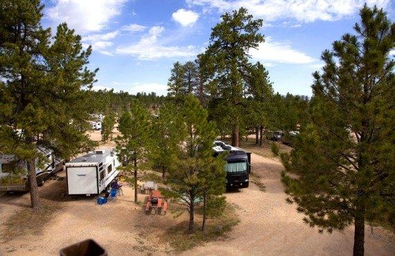 Camping Ruby's Inn, Bryce Canyon, Utah