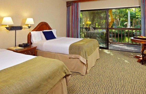 Catamaran Resort Hotel - Chambre côté Jardin