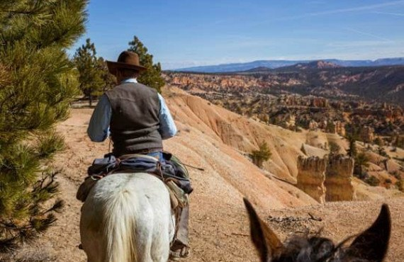Bryce Canyon à dos de cheval