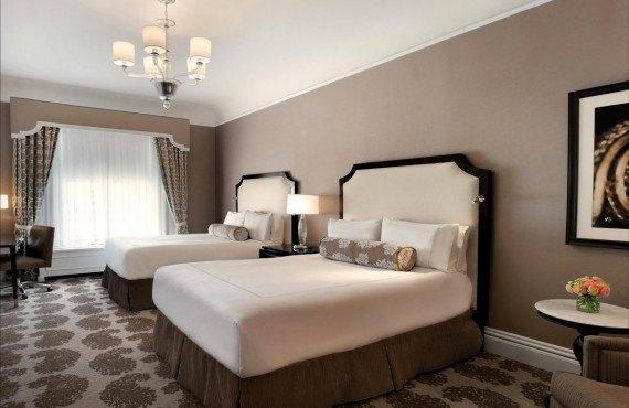 Fairmont San Francisco - Chambre 2 lits