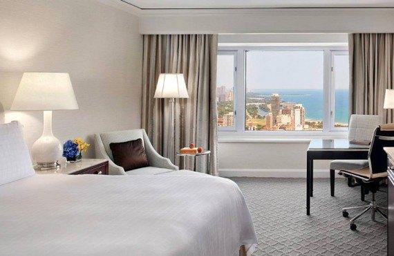 Four Seasons Chicago - Chambre avec vue sur la ville