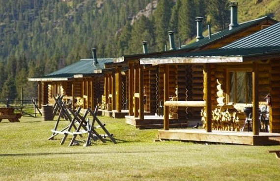 Les Chalets du ranch, MT
