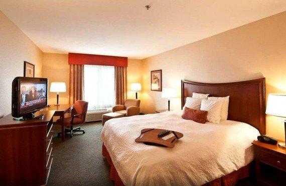 Hampton Inn Fresno - Chambre lit King