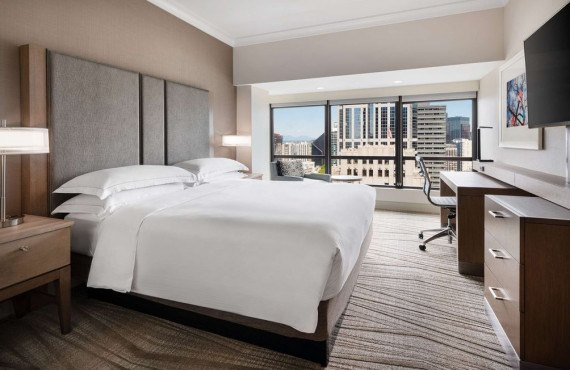 Hilton Seattle - Chambre 1 lit