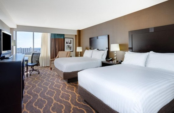 Holiday Inn Express Midtown - Chambre 2 lits