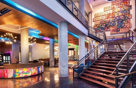 Hôtel Aloft Boston - Lobby