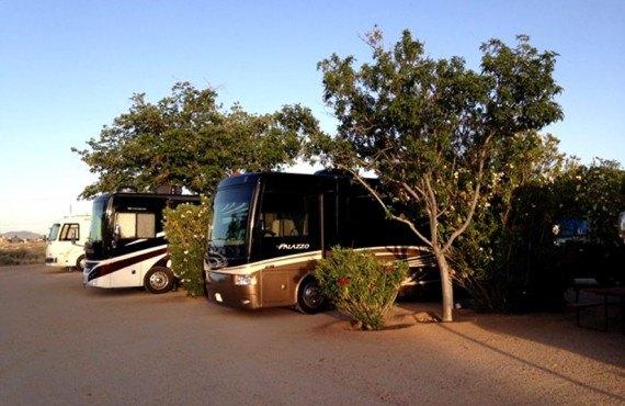 Emplacements pour camping-car de classe A