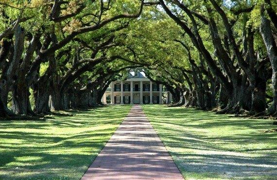 Maison typique de plantation