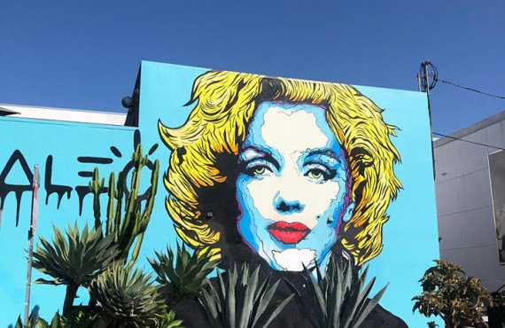 West-Hollywood-Marilyn-Murale
