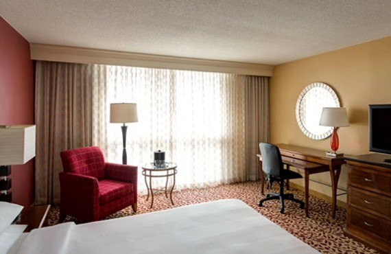 Marriott Los Angeles Airport - Chambre lit King