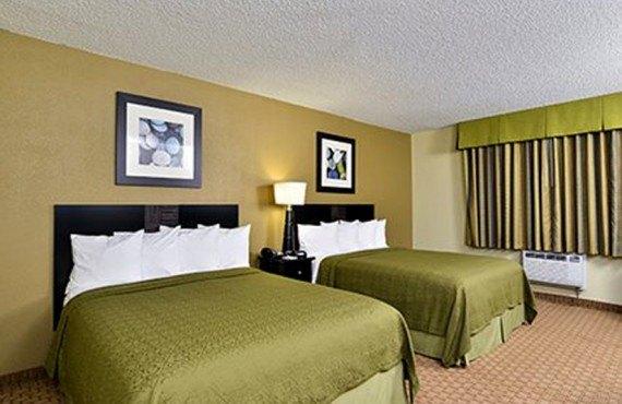 Quality Inn Navajo - Chambre 2 lits queen