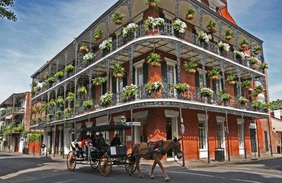 Le Vieux Carré Français, Nouvelle-Orléans