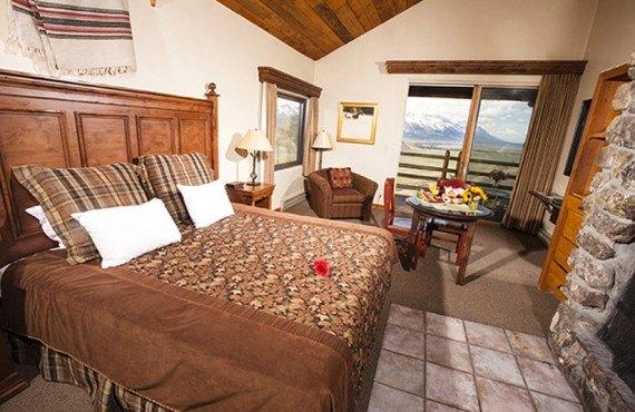 Spring Creek Ranch - Chambre avec foyer