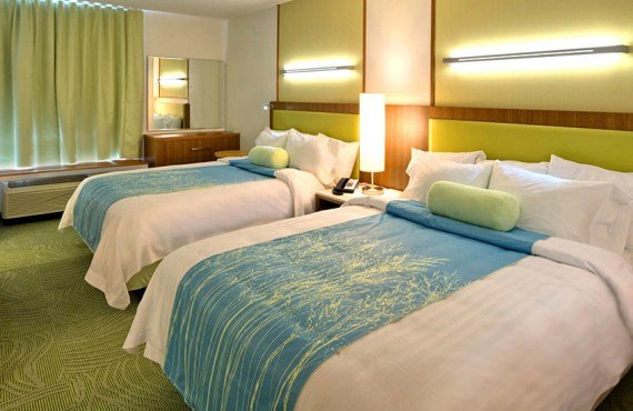 SpringHill Suites Vernal - Chambre 2 lits Queen