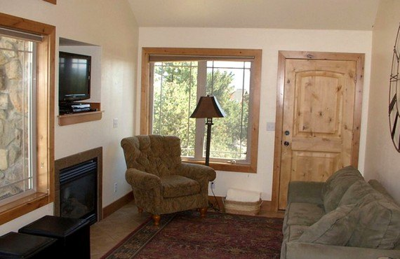 Stone Canyon Inn - Chalet, salle de séjour