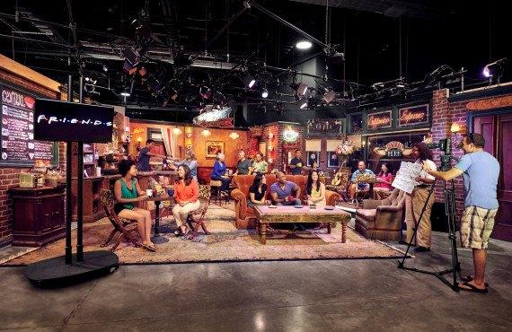 Visite des studios Warner