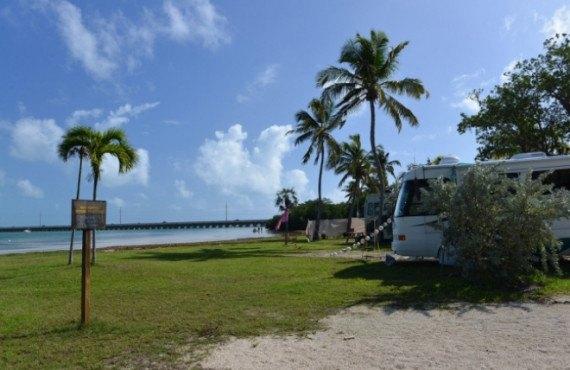 Site camping-car