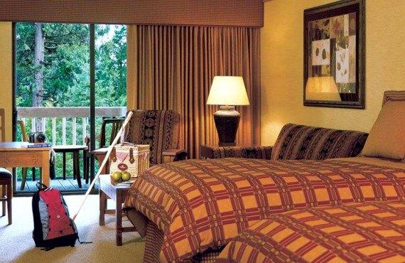 Tenaya Lodge - Chambre lits Queen