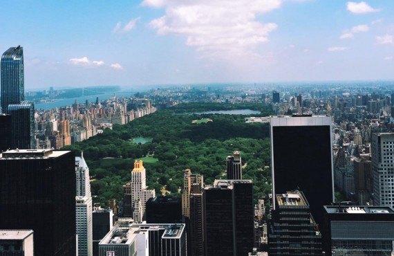 Vue sur Central Park, NY