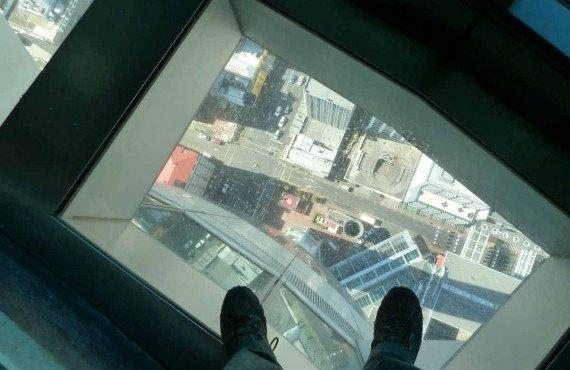 Tour du CN Toronto - Le plancher de verre