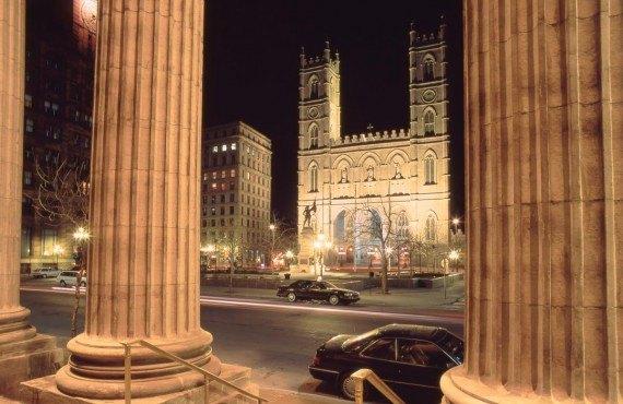 La Basilique Notre-Dame - Montréal, Qc