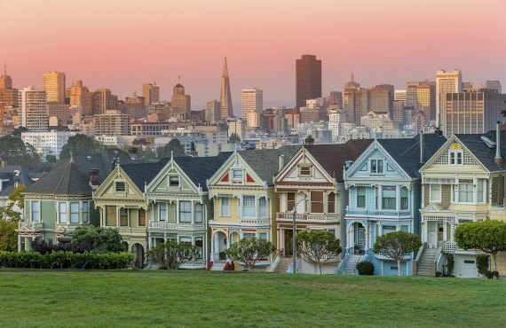 Painted Ladies, CA