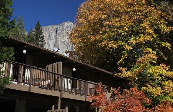 Yosemite Valley Lodge-Vue extérieure