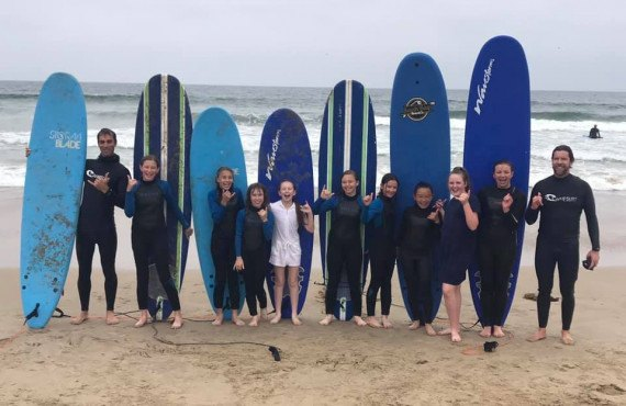 Cours de surf - Manhattan Beach