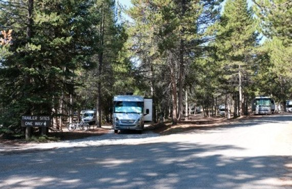 Emplacements pour camping-cars