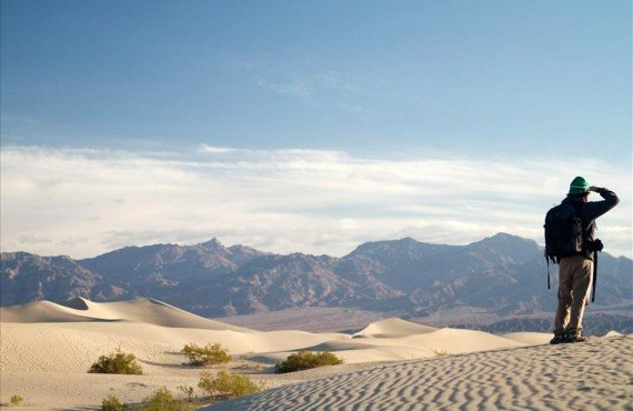 Mesquite dunes, Death Valley national park