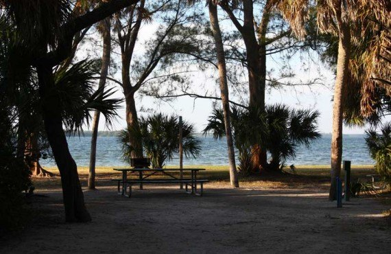 Camping-Fort-DeSoto-Site