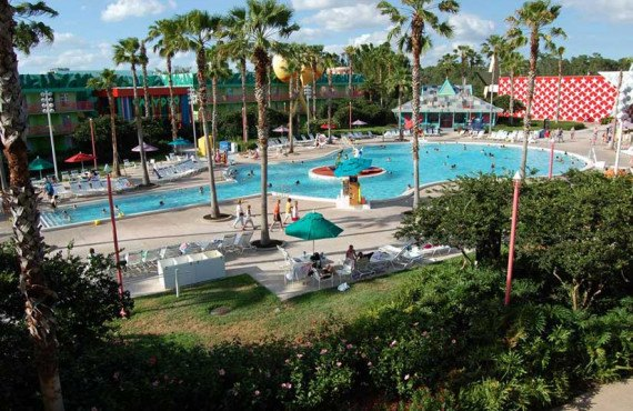 Disney-All-Star-Music-Orlando-Piscine-Guitar