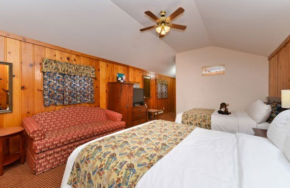Buffalo Bill Cabin Village - Chambre 2 lits
