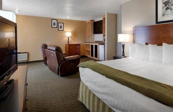 Best Western Dinosaur Inn - Suite lit King
