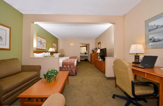 Best Western King's Inn - Suite 2 lits