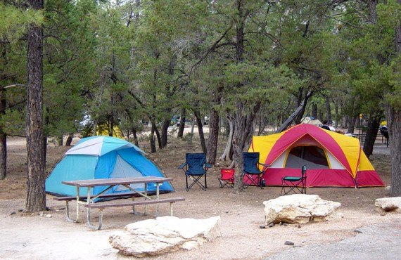 Camping Grand Canyon - Secteur Sud