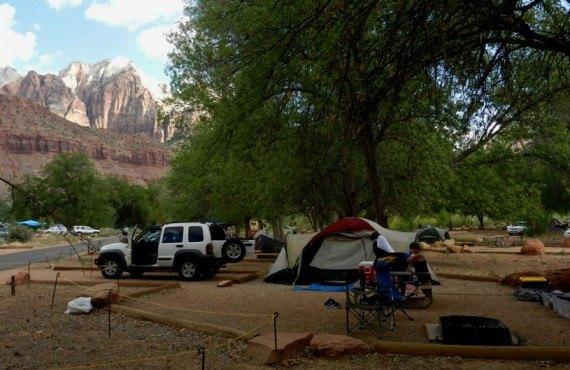 Camping du Parc Zion - Site pour tentes