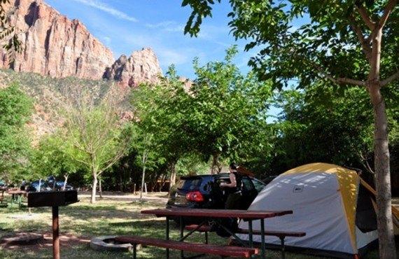 Camping Zion Canyon - Tente