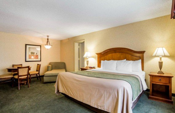 Comfort Inn Big Sky - Suite spacieuse