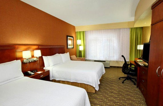 Courtyard by Marriott - Chambre 2 lits