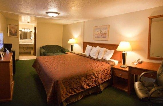 Econo Lodge Vernal - Chambre lit King