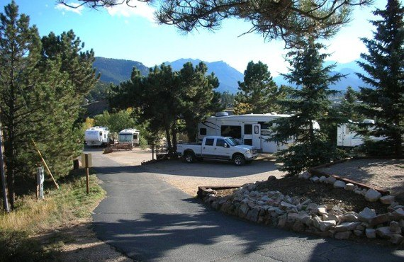 Emplacement pour campings-car