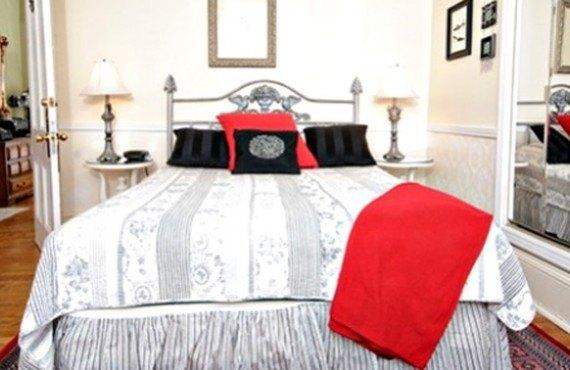 Hôtel Le Roberval - Chambre lit Queen