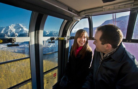 Gondole de Sulphur Mountain, Banff