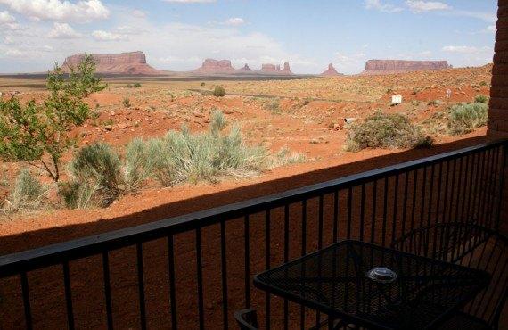 Goulging Lodge - Vue du balcon