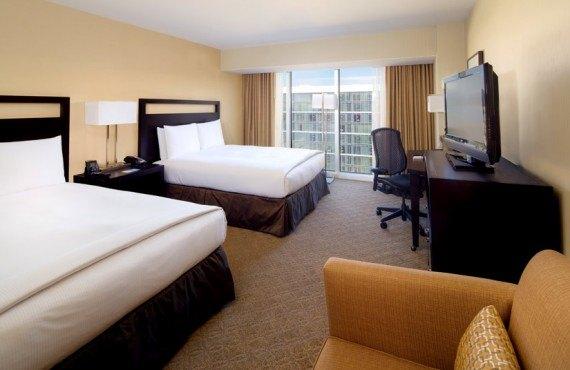 Hilton Anaheim - Chambre 2 lits