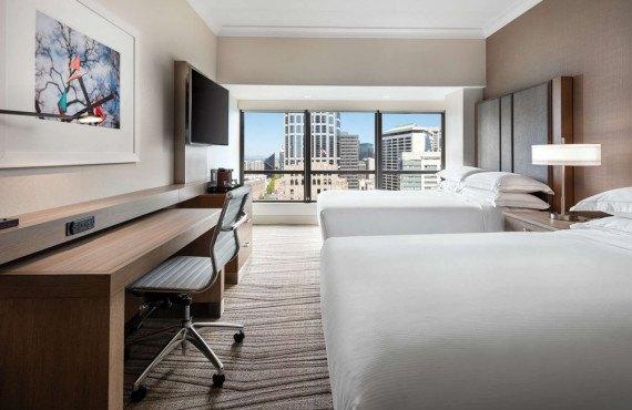 Hilton Seattle - Chambre 2 lits