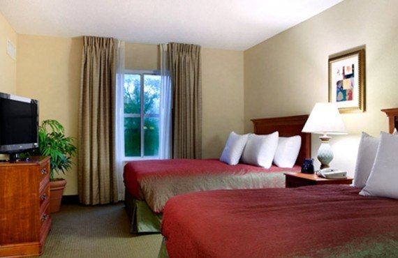 Homewood Suites Tallahassee - Chambre 2 lits
