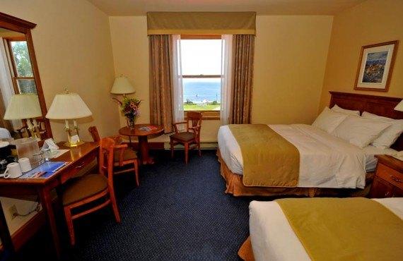 Hôtel Tadoussac - Chambre 2 lits
